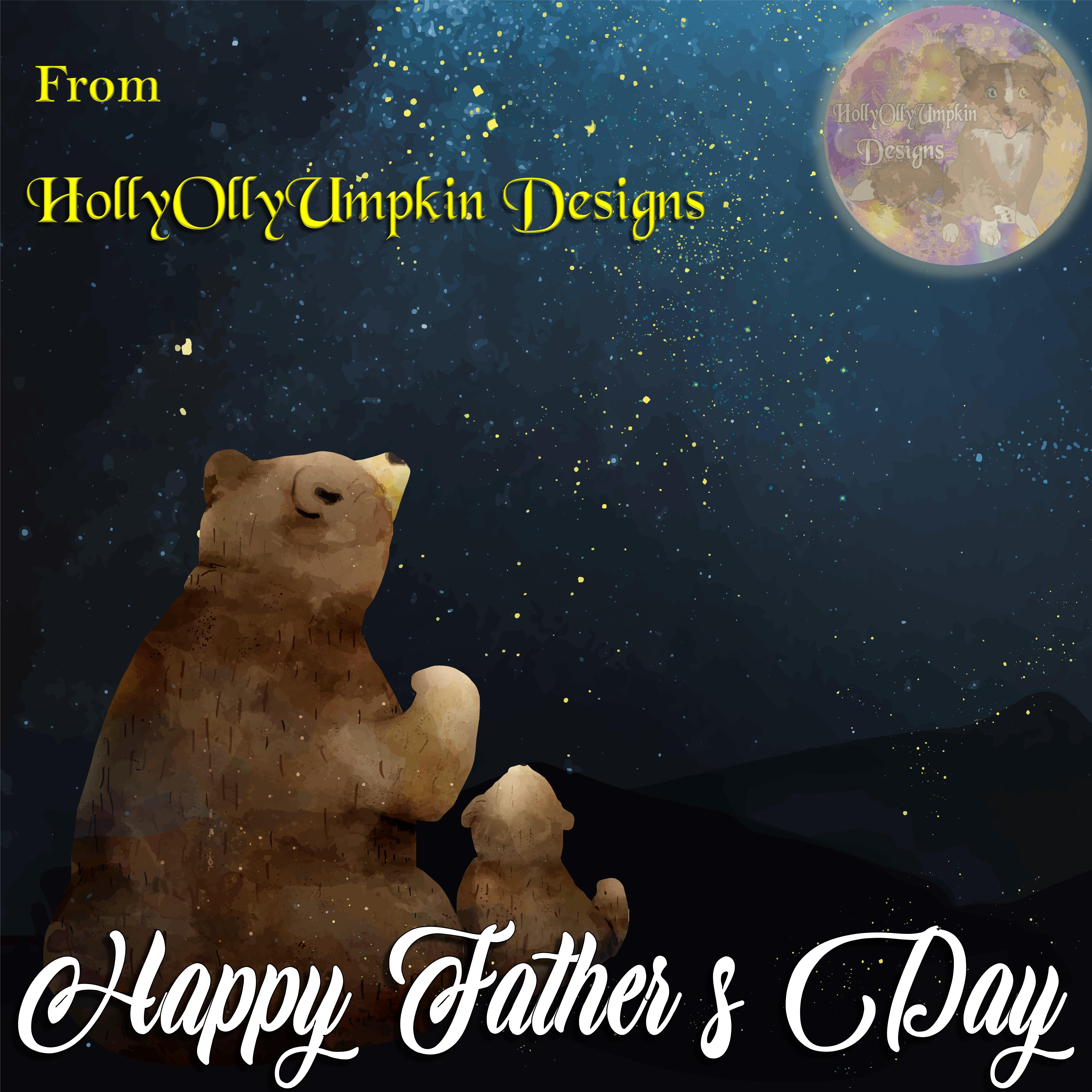 2020.06.20 - Digital Content - HollyOllyUmpkin - Father's Day